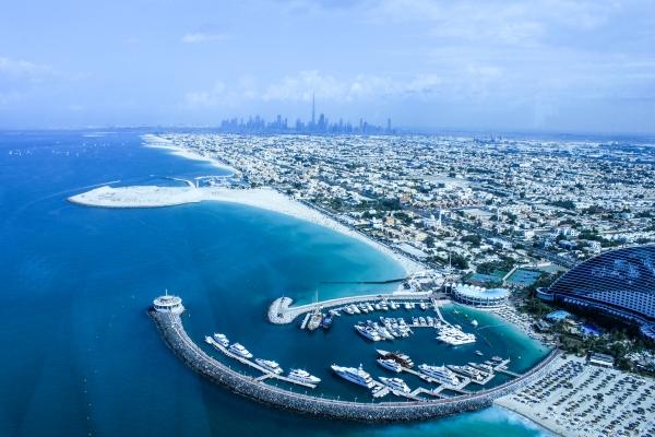 Vista de Dubai desde el Burj Khalifa